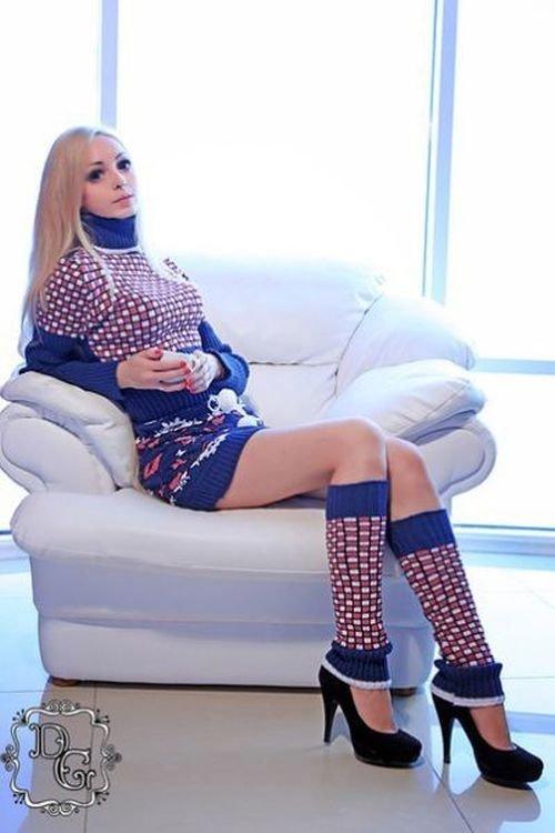 Живая кукла из Одессы (22 фото)