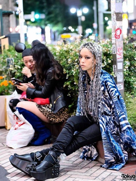 Мода на улицах Токио (40 фото)
