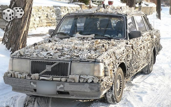 Странный тюнинг автомобилей (41 фото)