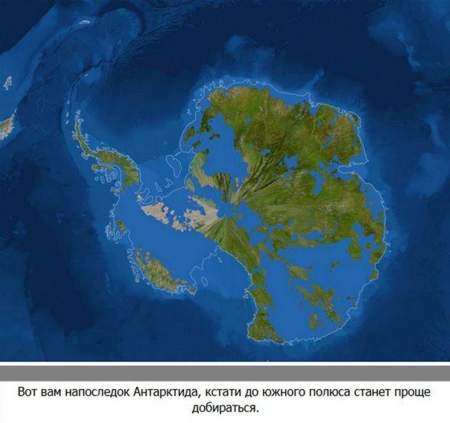 Что будет, если растают ледники (7 фото)