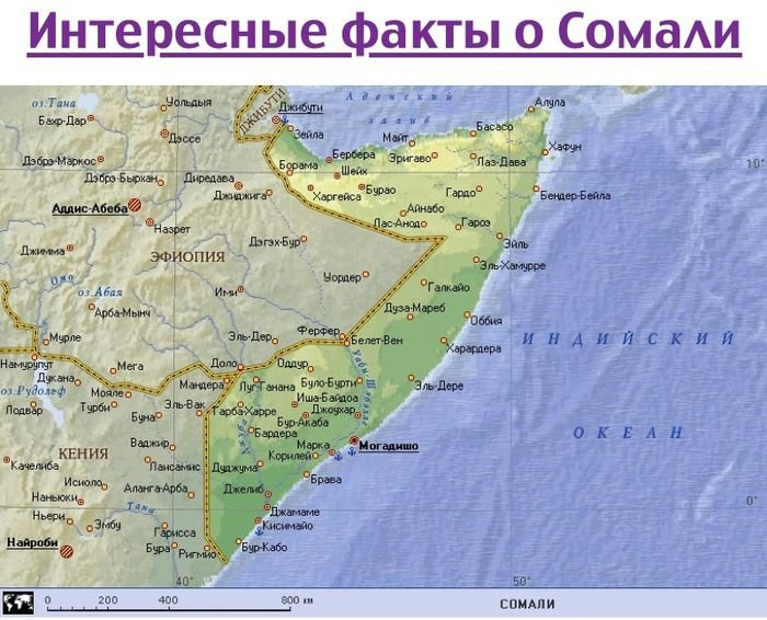 Интересные факты о Сомали (11 фото)