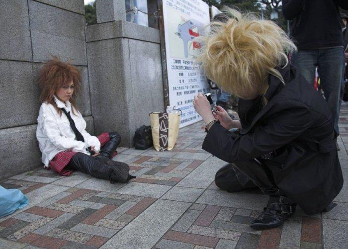 Квартал Харадзюку в Токио (53 фото)