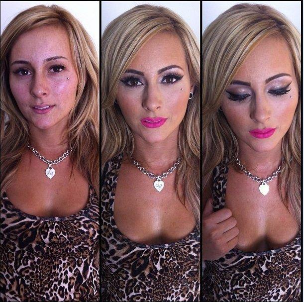 Звезды порно без макияжа (53 фото)