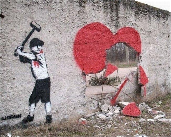 Уличное искусство (32 фото)
