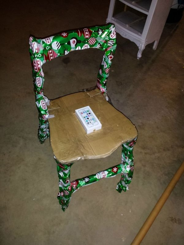 Необычный способ упаковки подарка (10 фото)