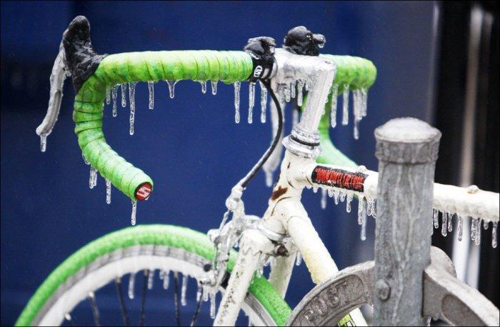 После ледяного шторма в Канаде (17 фото)