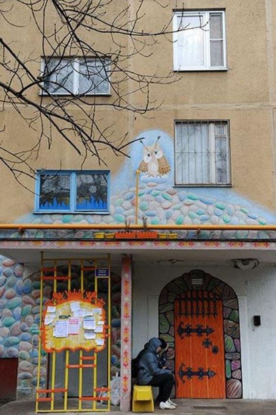 Красивый подъезд в Бирюлево (10 фото)
