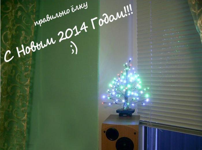 Необычная новогодняя елочка (8 фото)
