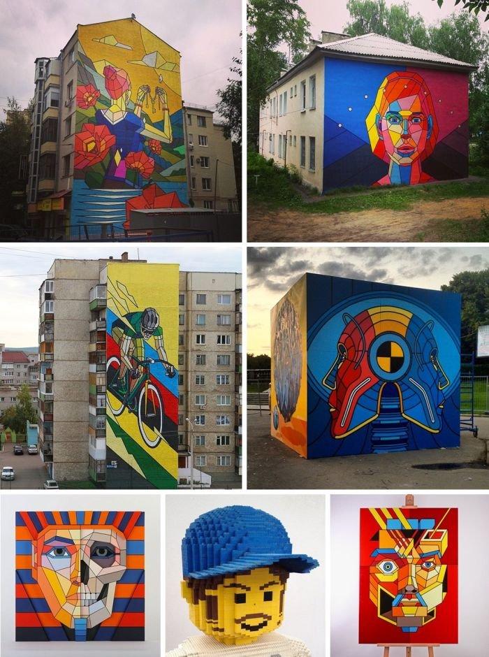 Граффити российских художников (23 фото)