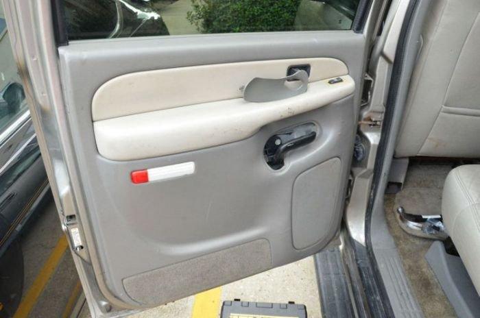 Сюрприз в двери автомобиля (16 фото)