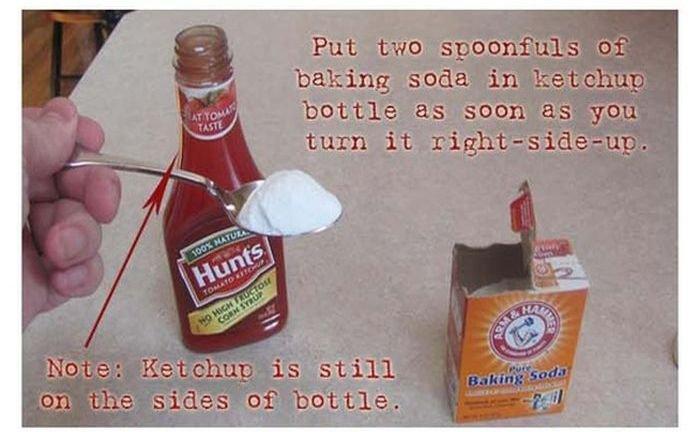 Прикол с кетчупом (6 фото)