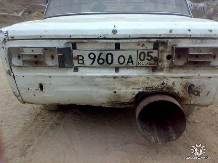 Автомобильные приколы. Часть 5 (40 фото)