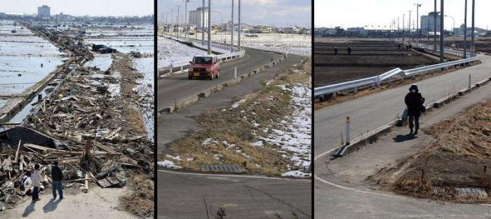 Япония. 2 года после цунами (38 фото)