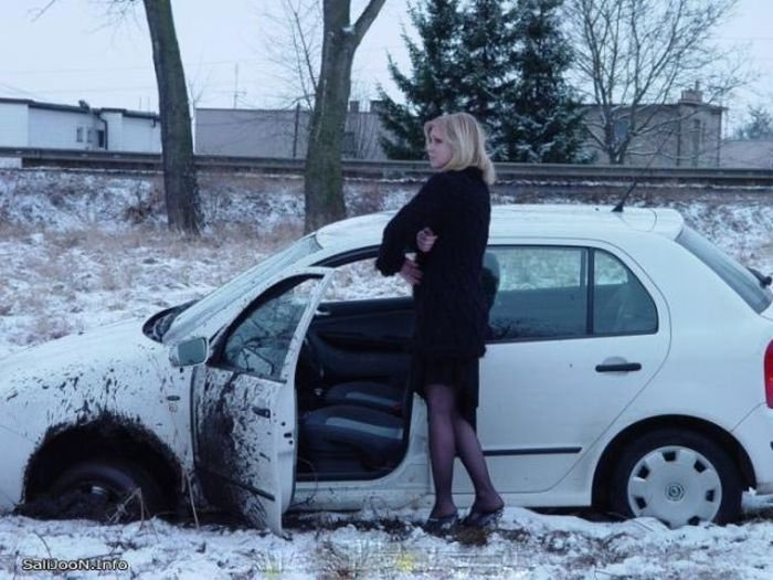 Девушки и автомобили (52 фото)