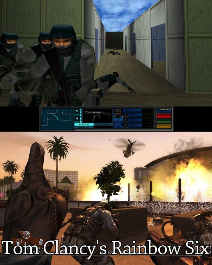 Игры раньше и сейчас (20 фото)