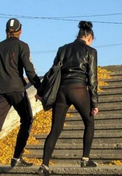 И снова отличные штанишки (2 фото)