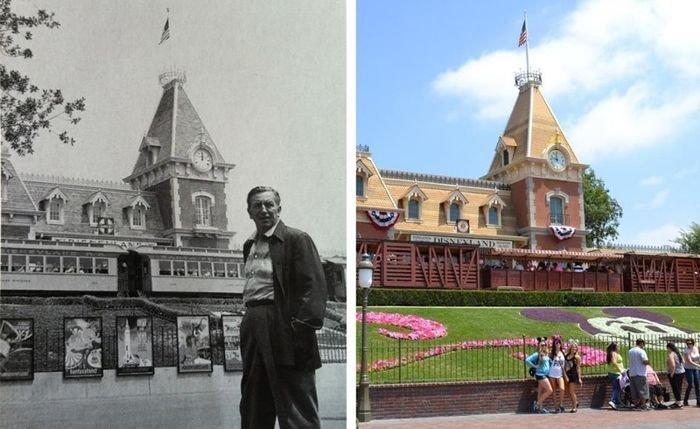 Диснейленд 60 лет назад и сейчас (16 фото)