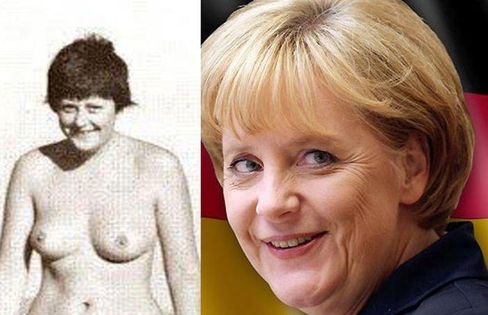 Анна Меркель Голая