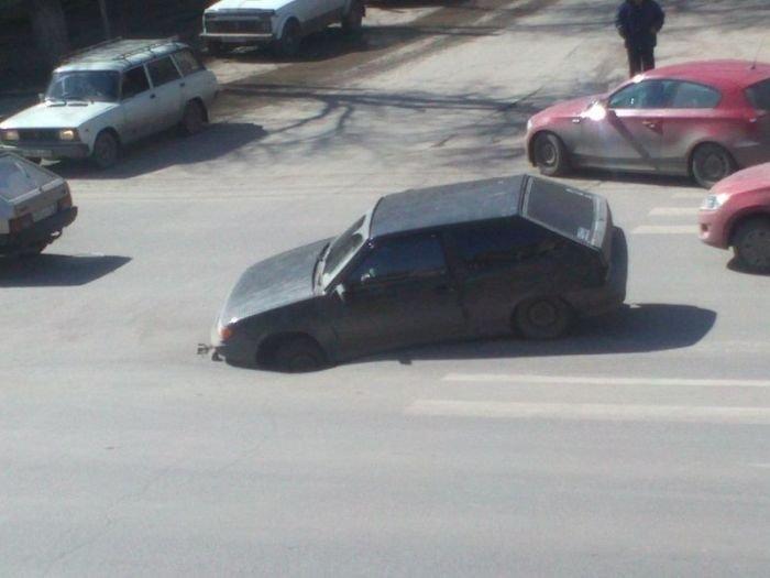 Автомобильные приколы. Часть 10 (40 фото)