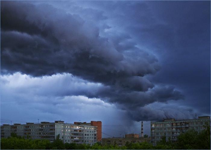 Торнадо пронесся над тульской областью (12 фото)
