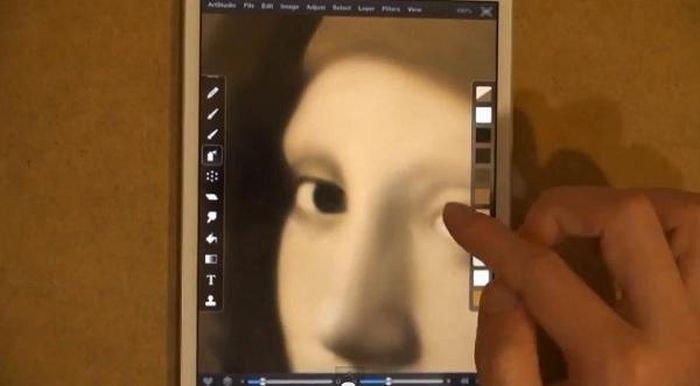 Невероятный рисунок на Айпаде (13 фото)
