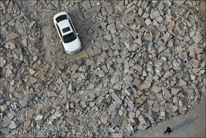 Оставил машину на парковке (3 фото)