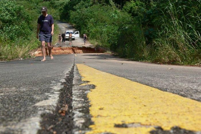 Проблема на дороге (8 фото)