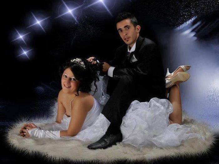 Загонные свадебные фотографии (74 фото)