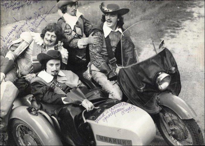 Фотографии со съемок известных советских фильмов (42 фото)