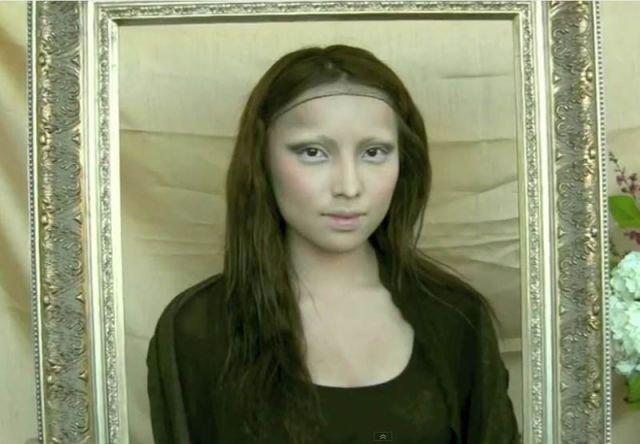 Чудеса макияжа (22 фото)