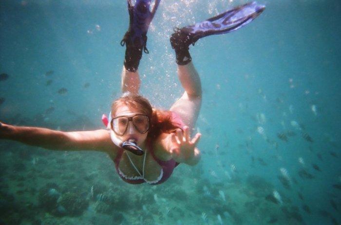 Последствия неправильного погружения под воду (6 фото)