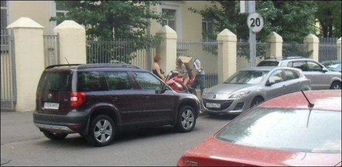 Как перевозить груз на мотоцикле (9 фото)