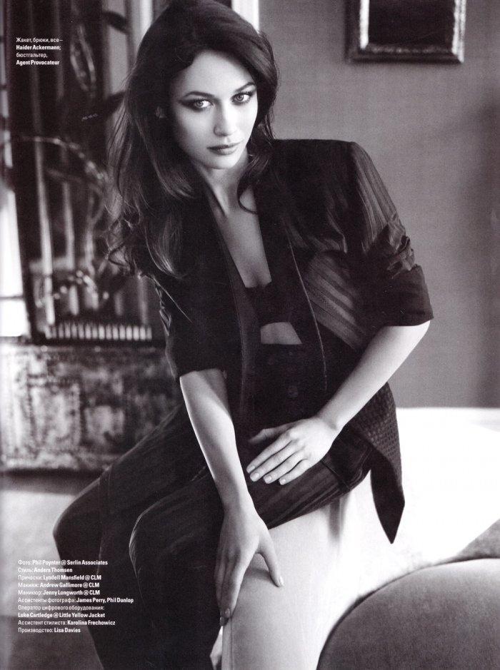 Ольга Куриленко в украинском Vogue (5 фото)