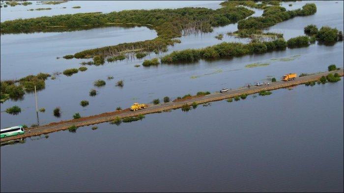 Наводнение в Хабаровске (15 фото)