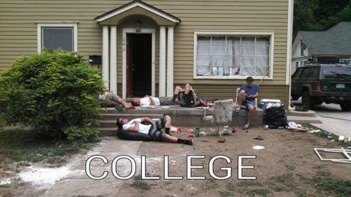 Как отдыхают американские студенты (40 фото)