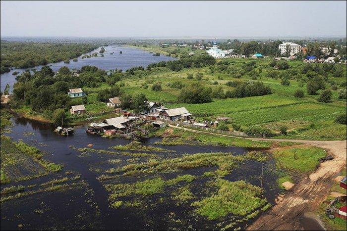 Река Амур раньше и сейчас (9 фото)