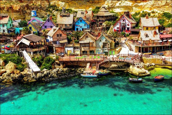 Уникальные деревни (12 фото)