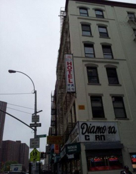 Самый дешевый отель Нью-Йорка (9 фото)