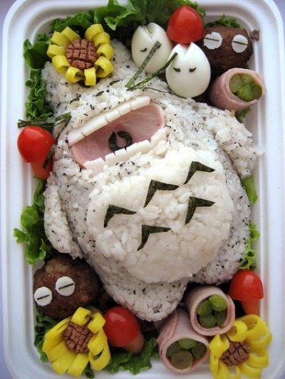 Необычная еда (45 фото)