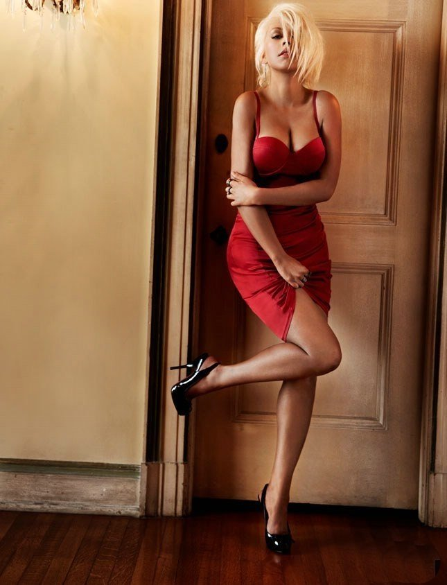 Кристина Агилера (5 фото)