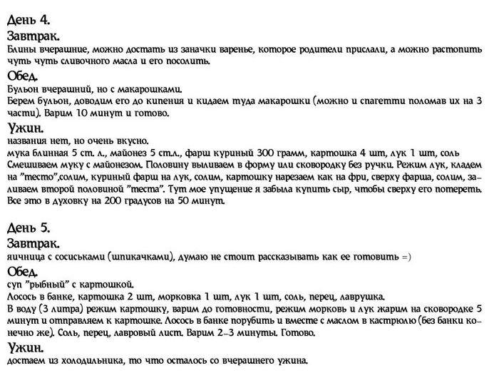 Как прожить на 3000 рублей (6 фото)