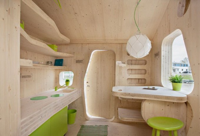 Мини-дом для студента (7 фото)