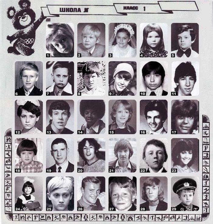 Звезды в первом классе (2 фото)