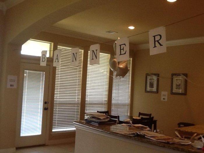 Вечеринка ко дню рождения жены (7 фото)