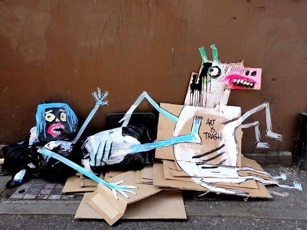 Креатив из мусора на свалках (9 фото)