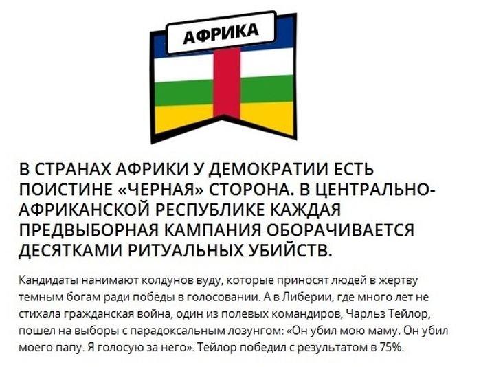 Выборы в различных странах (10 фото)