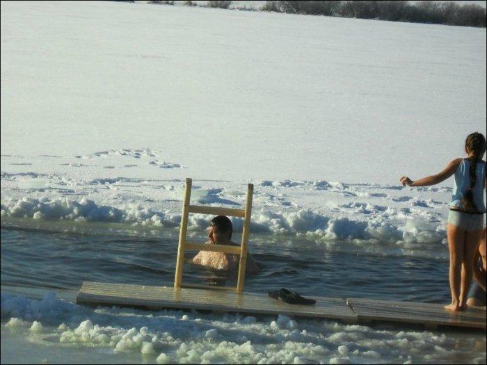 Крещенские купания 2014 года (36 фото) НЮ!