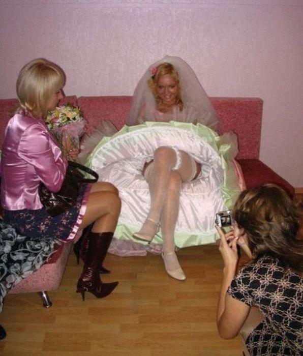 Забавные снимки со свадьбы (61 фото)