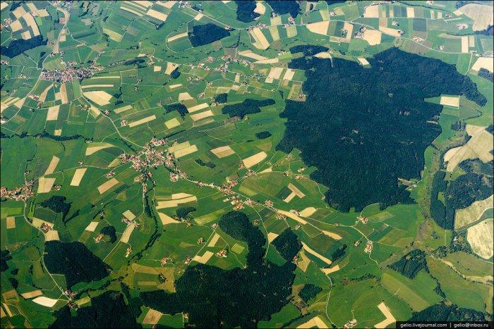 Снимки из самолета (33 фото)