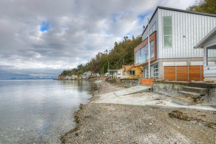 Дом с защитой от наводнений (22 фото)